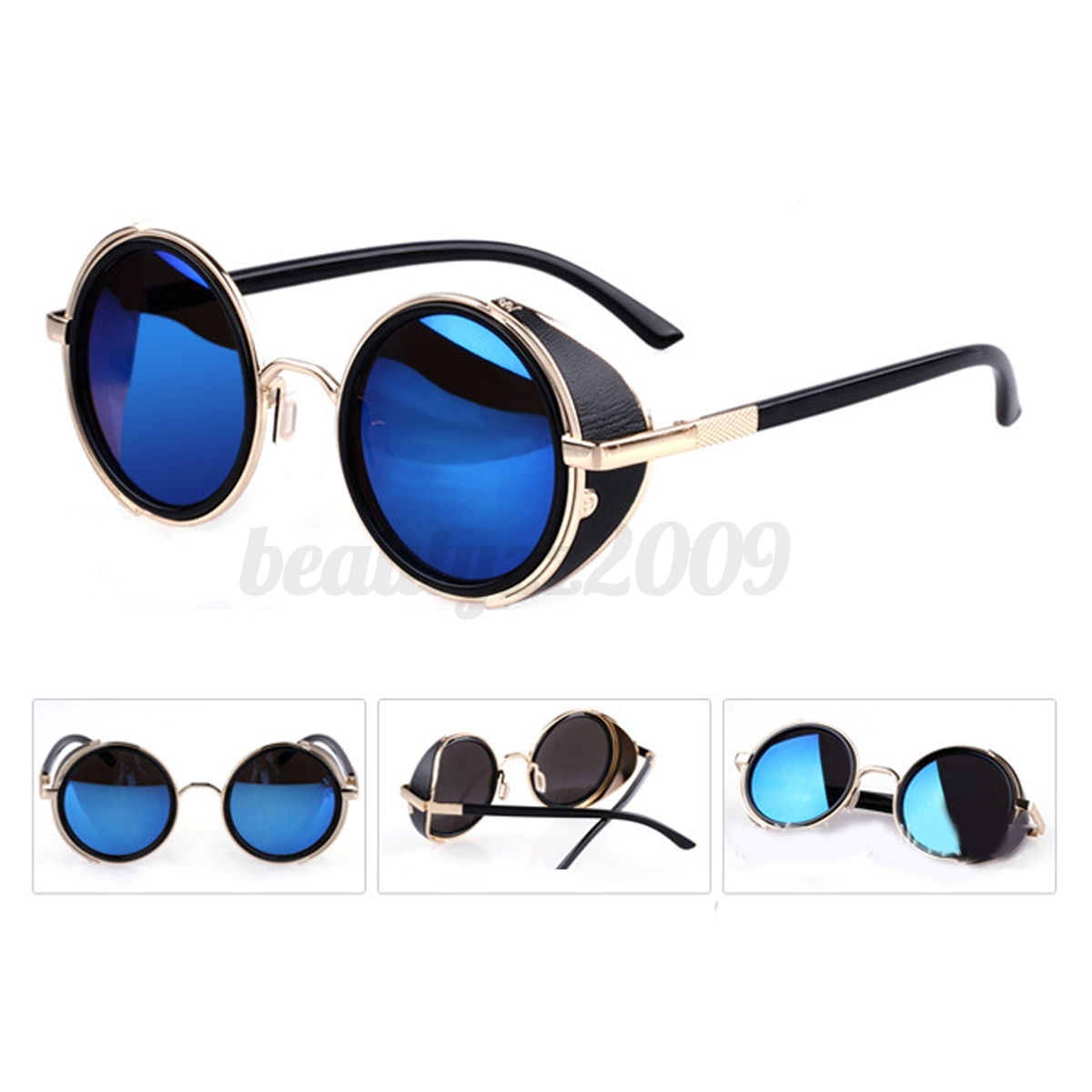 5793346f0c7c Ebay Round Sunglasses With Side Protection