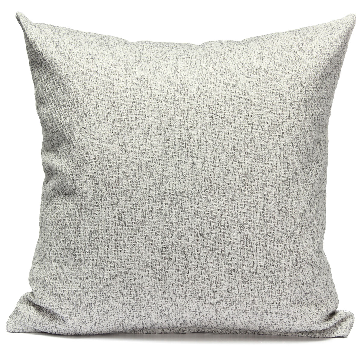 Simple Cotton Linen Throw Waist Pillow Case Sofa Car Cushion Cover Home Decor
