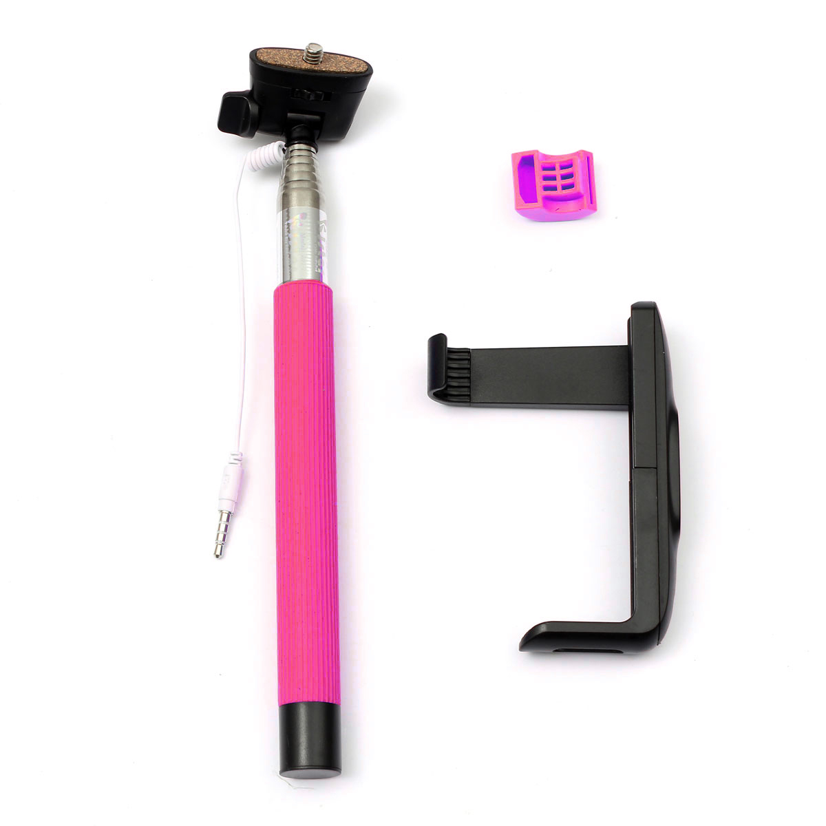 telescopic handheld monopod selfie stick for iphone 6 6 plus sony htc lg moto. Black Bedroom Furniture Sets. Home Design Ideas