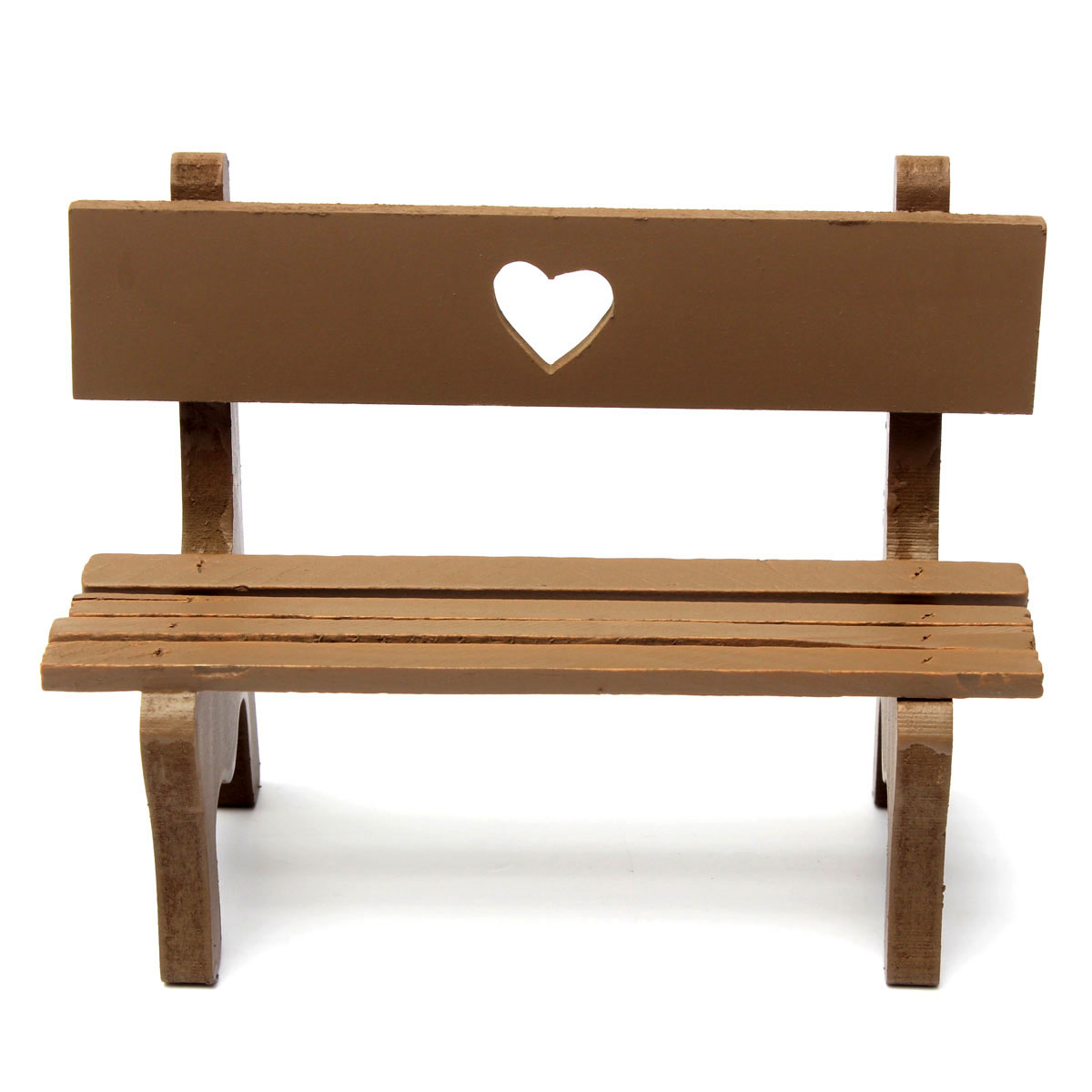 Marvelous photograph of   GIFT Garden Wooden Chair Bench Model Wedding Cake Doll House Decor with #361B0D color and 1200x1200 pixels
