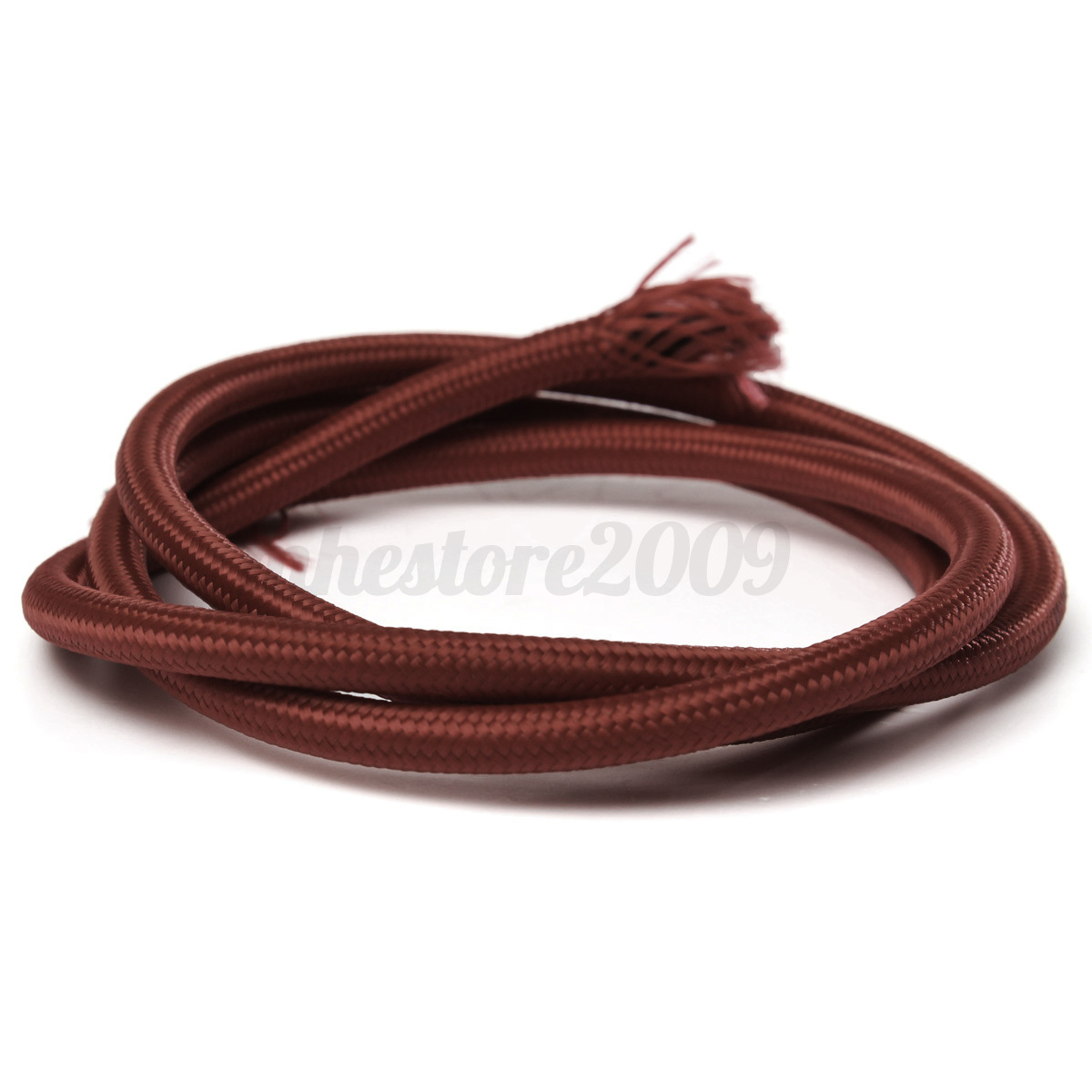1M Three Core Twisted Braided Fabric Electric Cable For