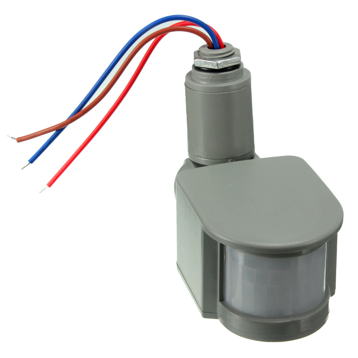 12v 180 sensor detector movimiento luz infrarrojo humano - Sensor de movimiento luz ...