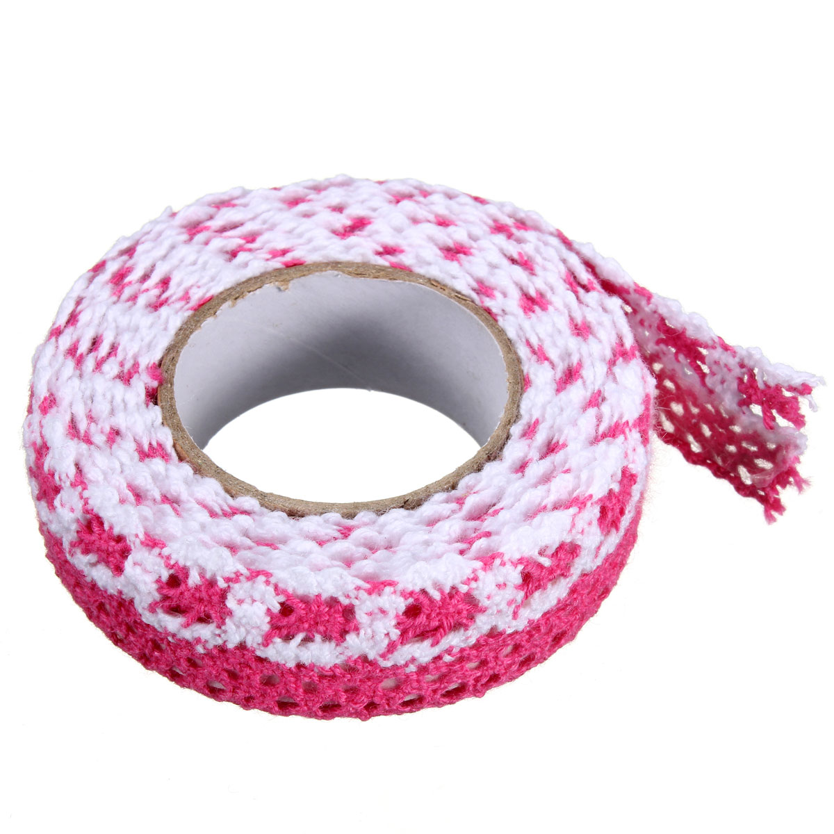 DIY Colorful Fabric Cloth Lace Tape Ribbon Cotton Trim ...