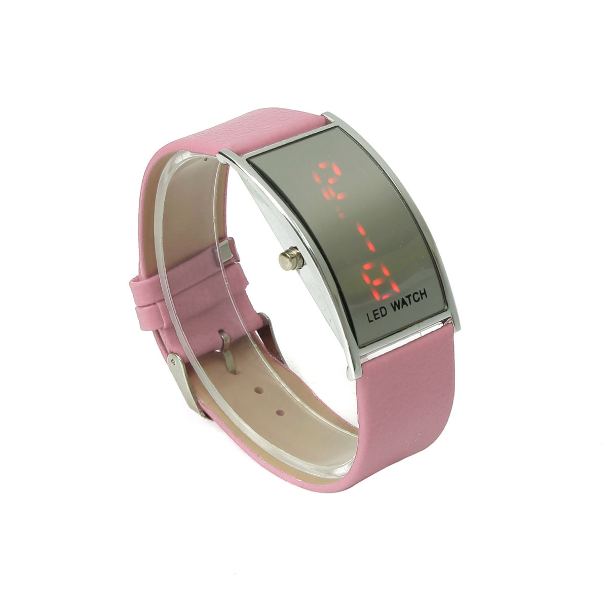 5Color Women Ladies Digital LED Watch Time Sports Leather ...