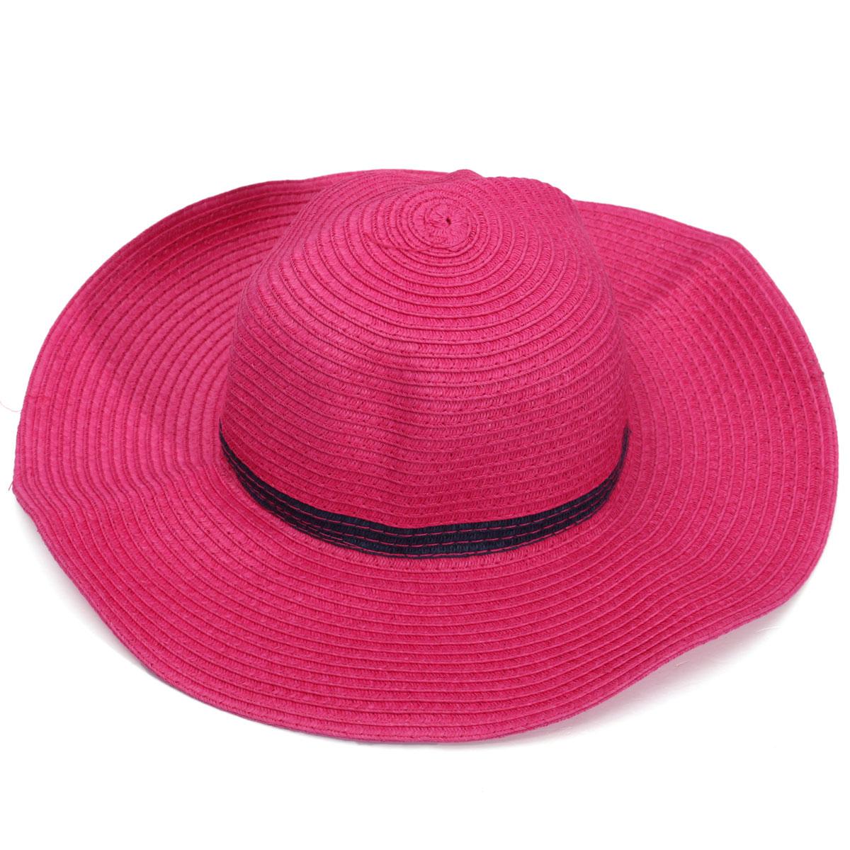 Fashion Kid Girls Summer Roll Up Wide Large Brim Sun Straw Beach Hats Cap Hat