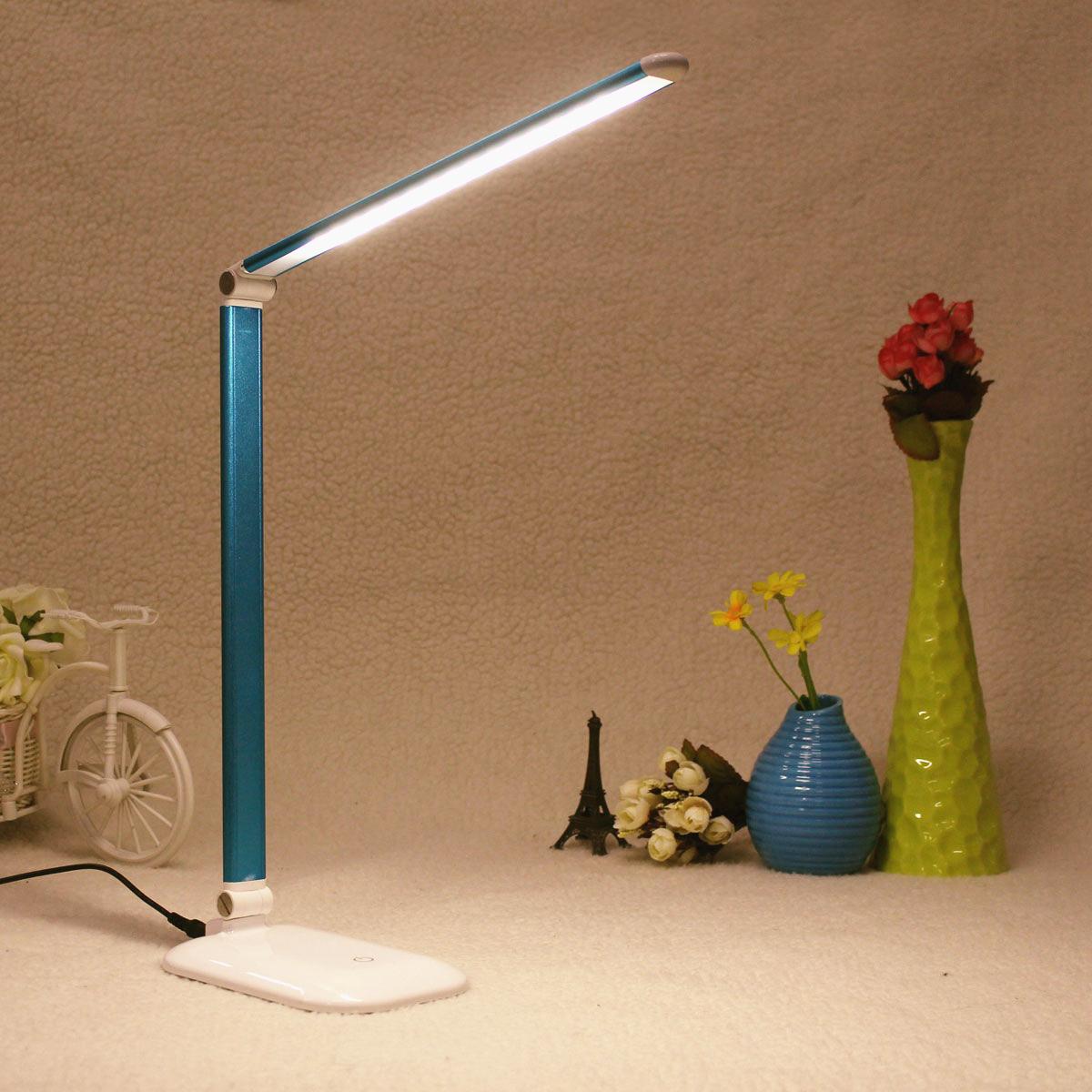 Pliable led nuit lampe de table bureau chevet variateur - Table de chevet led ...
