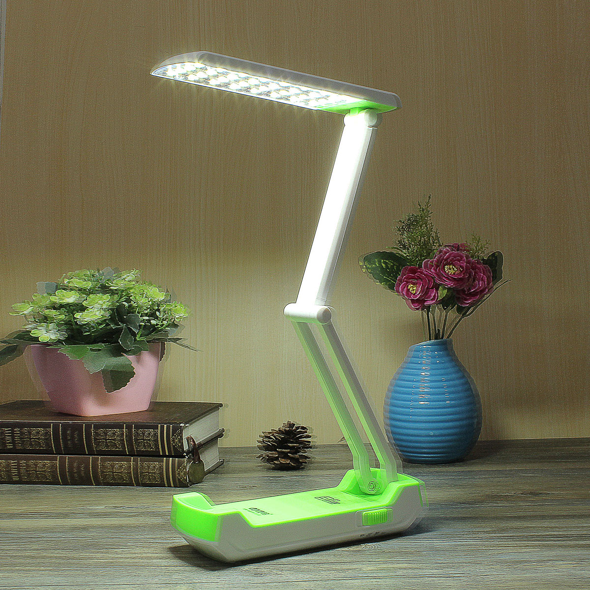 portable rechargeable led eclairage lampe de table bureau etude lecteur camping ebay. Black Bedroom Furniture Sets. Home Design Ideas