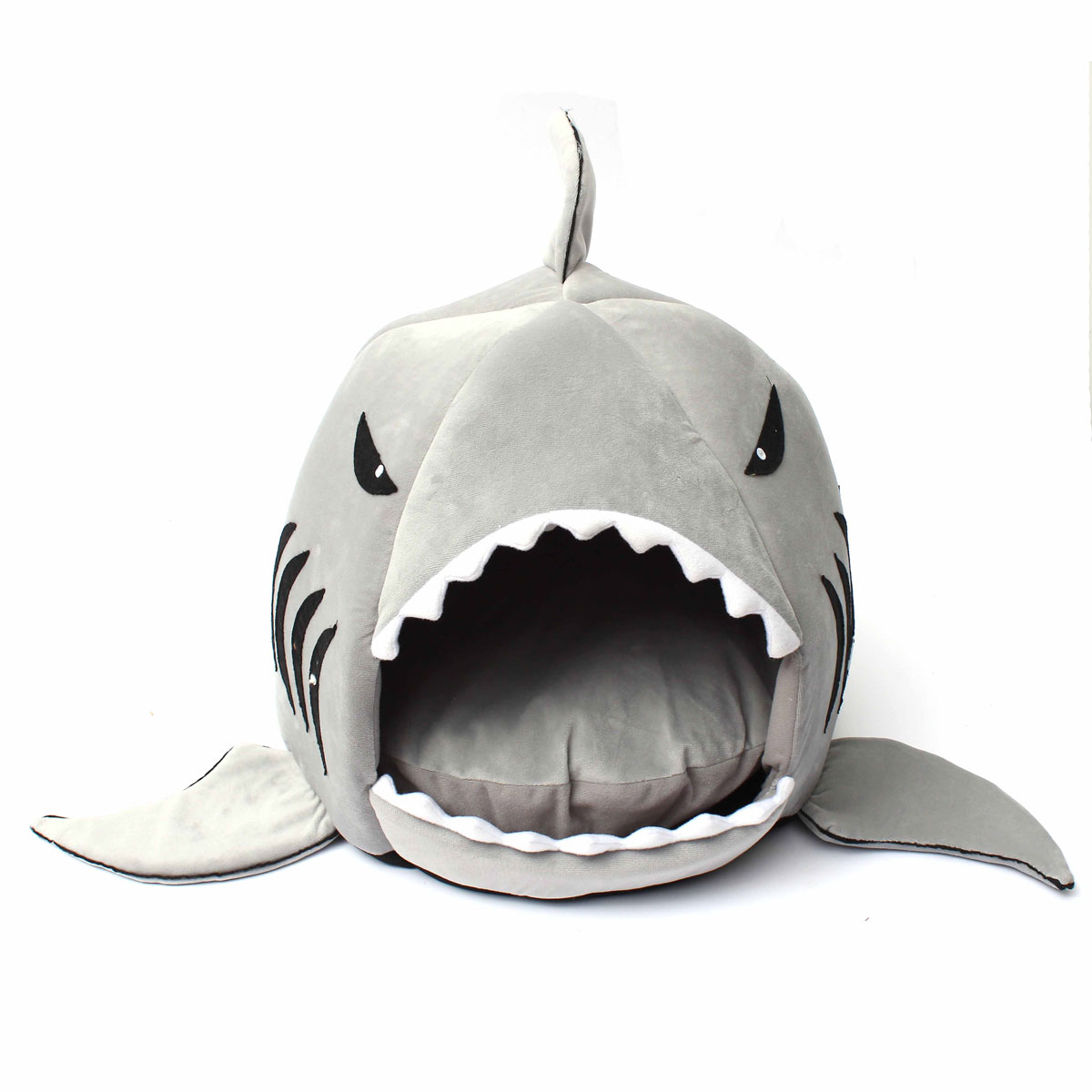 lit requin maison coussin corbeille cache cave couchage mat chat chien animal sl ebay. Black Bedroom Furniture Sets. Home Design Ideas