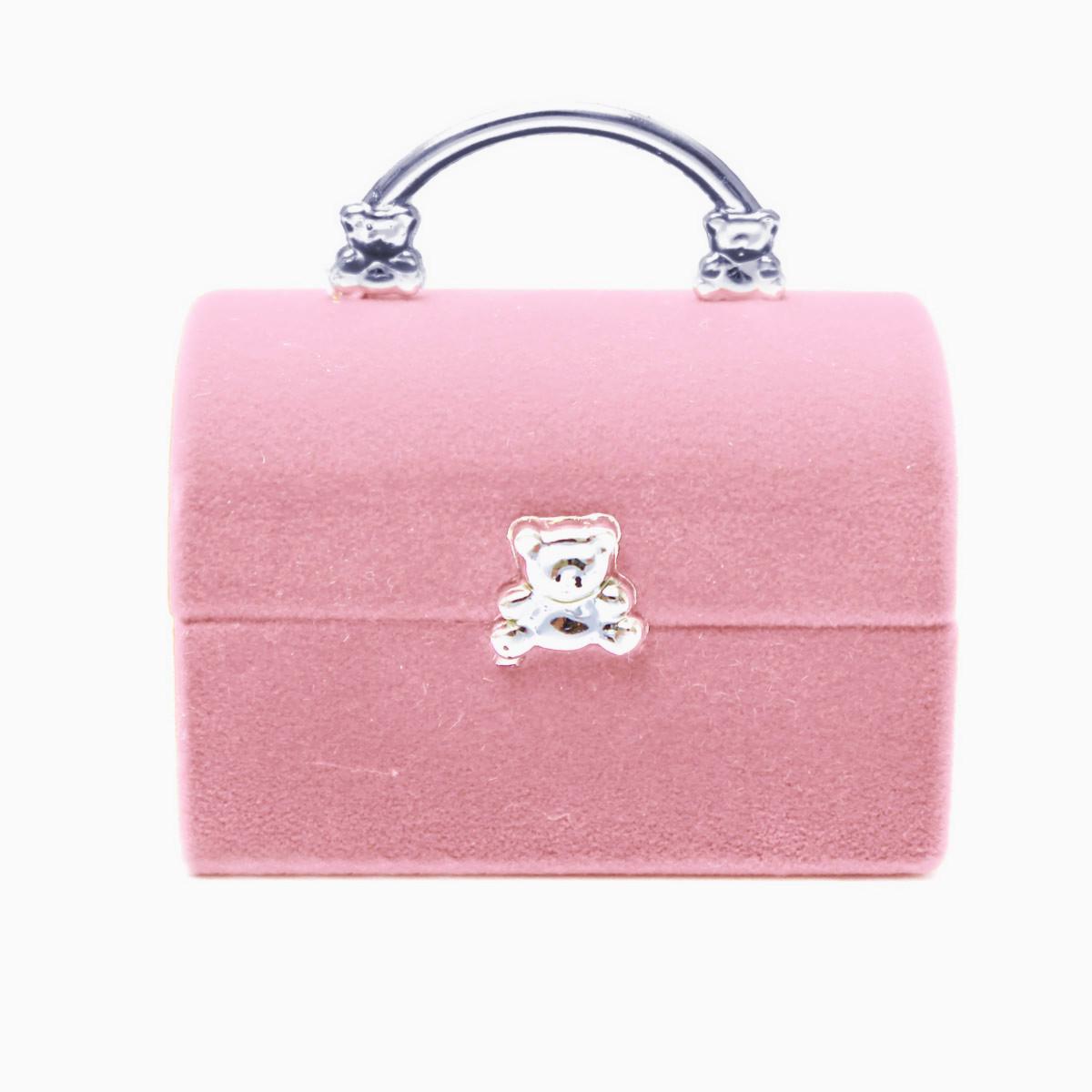 mini valise bo te bijoux caisse coffret velours ecrin bague boucle d 39 oreilles ebay. Black Bedroom Furniture Sets. Home Design Ideas