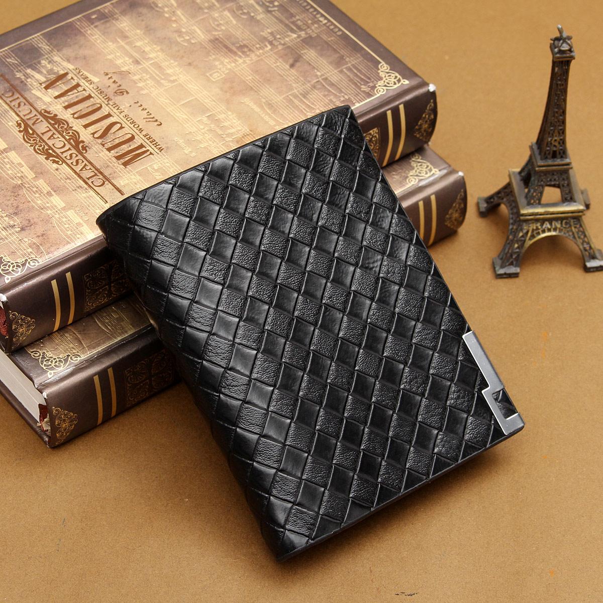 Homme portefeuille porte monnaie avec fermeture eclair en cuir court id carte ebay - Portefeuille cuir homme avec porte monnaie ...