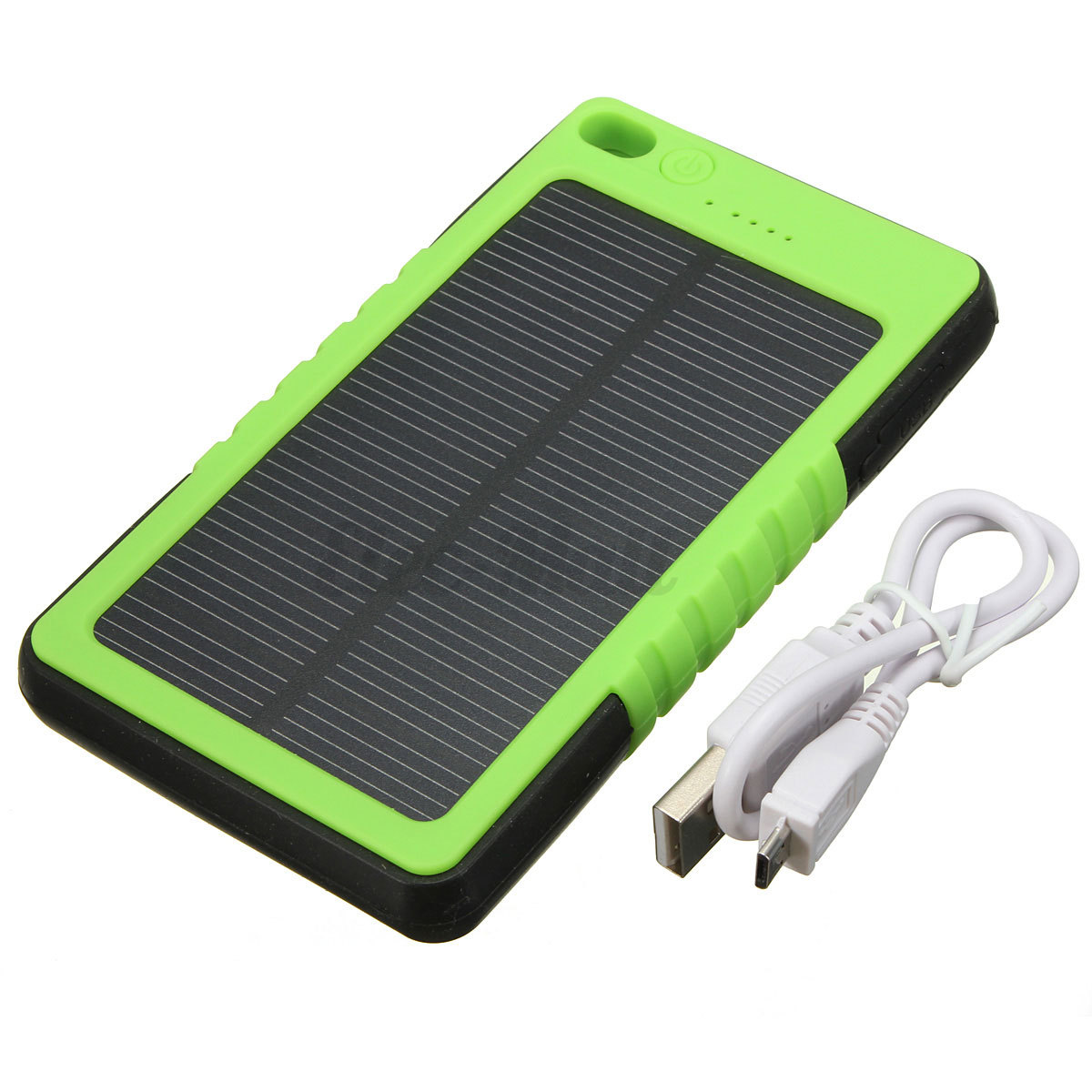 8000ma etanche usb externe batterie chargeur led solaire power bank portable ebay. Black Bedroom Furniture Sets. Home Design Ideas