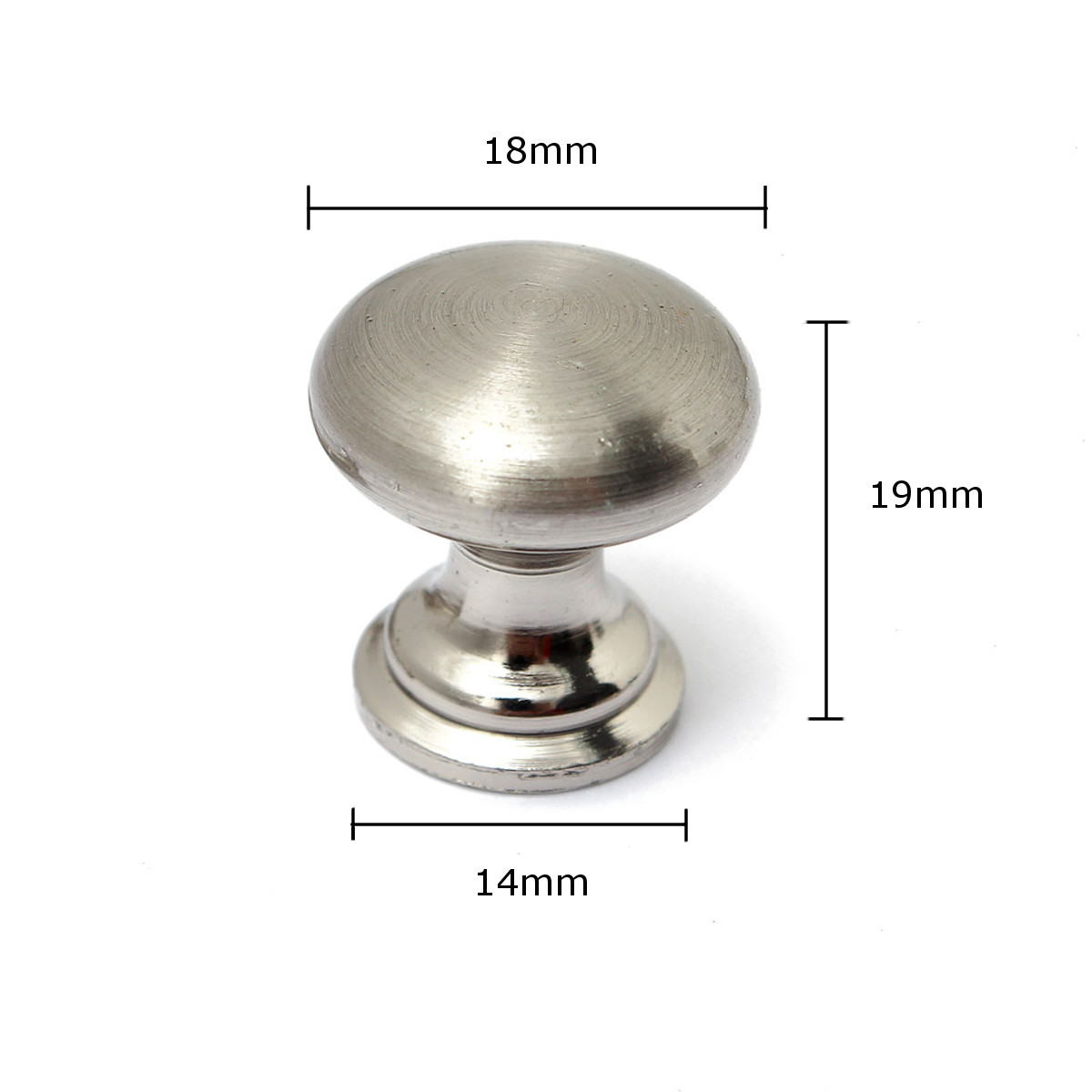 18mm/25mm/30mm Stainless Steel Knob Pull Handle Drawer