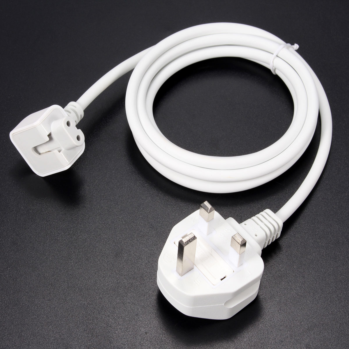 Us Eu Au Uk Plug Extension Cable Cord For Apple Macbook