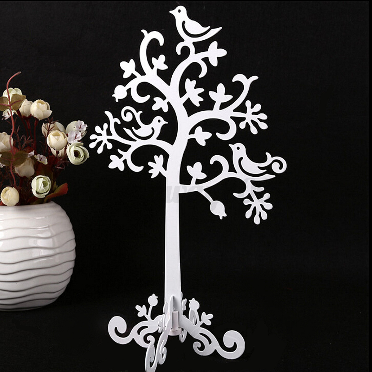 Elegant Metal JEWELLERY Earring Ring TREE DISPLAY Necklace Bracelet STAND Holder