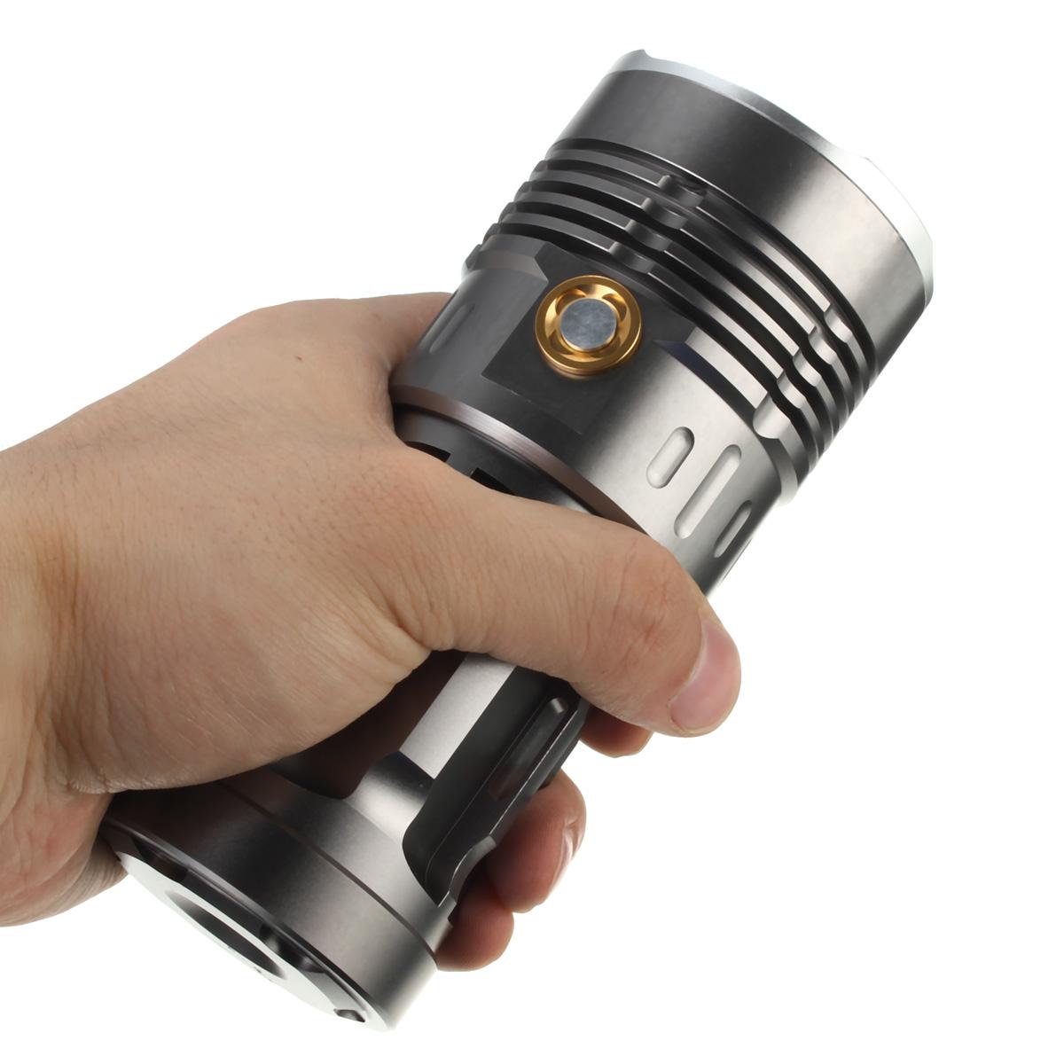 waterproof skyray 10000 lumen 7x xm l2 t6 led flashlight torch light. Black Bedroom Furniture Sets. Home Design Ideas