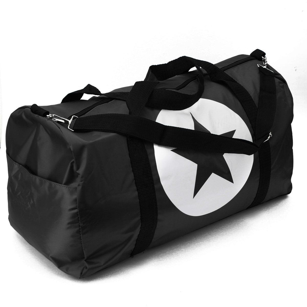 Women Men Unisex Travel Waterproof Nylon Bag Sports Fitness Handbag Gym Bag Tote