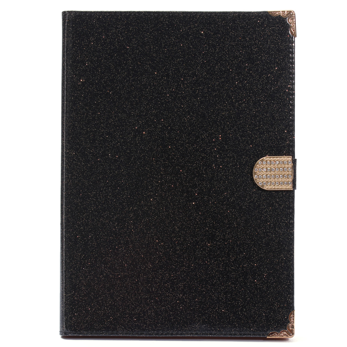 Glitter Diamond Magnetic Bling Leather Stand Card Case Cover For Apple iPad 5/6