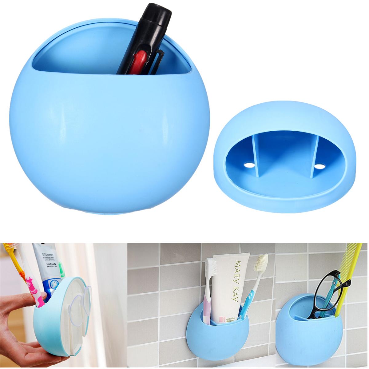 porte brosse 192 dent ventouse mural support toothbrush holder tasse salle de bain ebay