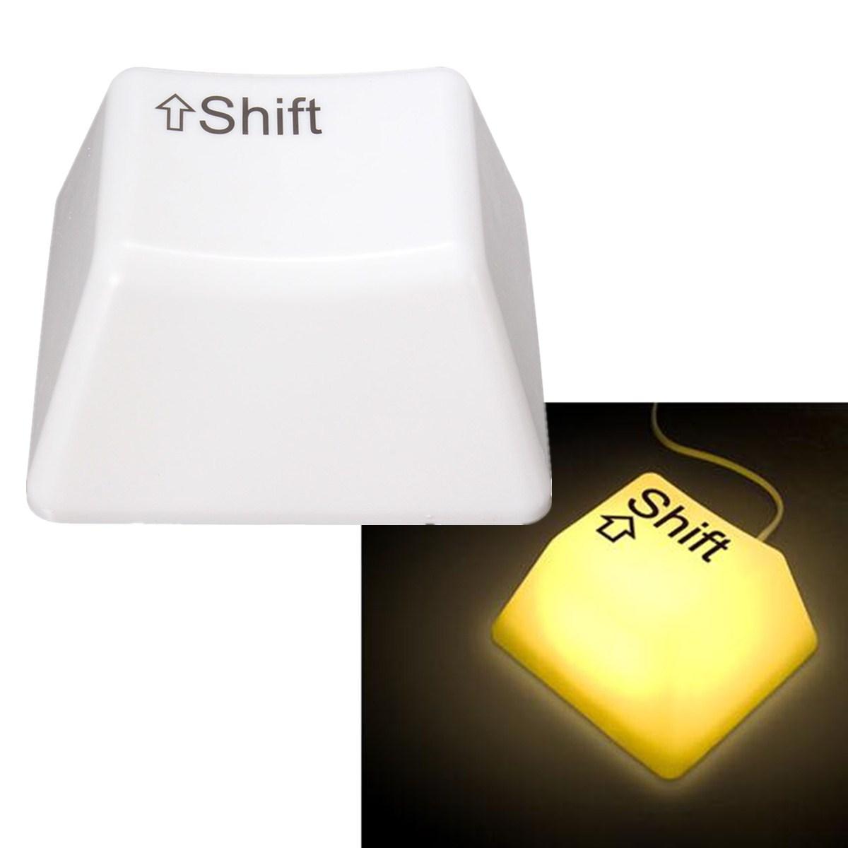 LED Keyboard Keypress Lights Baby Bedroom Night Light Desk Table Bedside Lamp