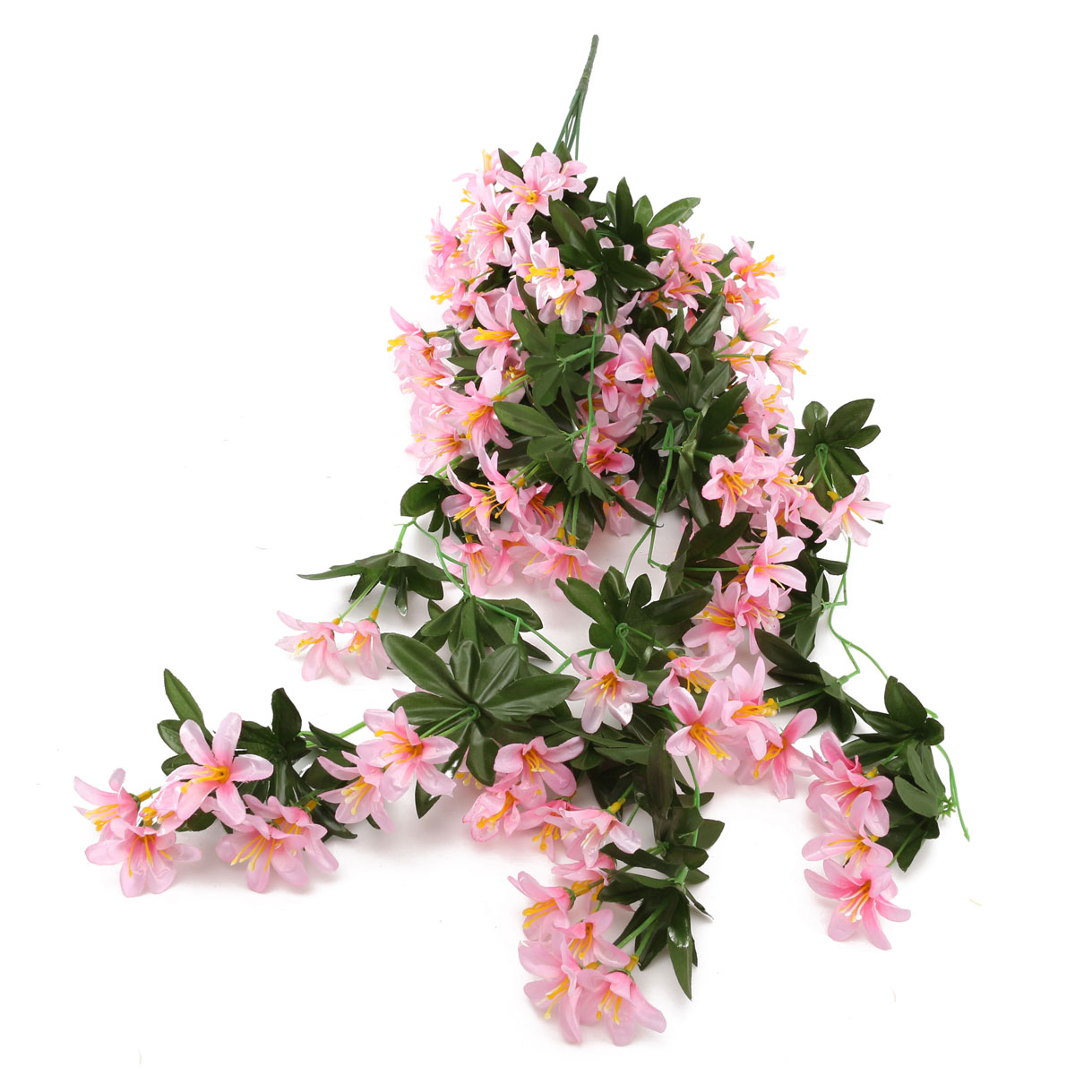 Bouquet fleur artificielle plante suspension maison jardin for Plante artificielle jardin