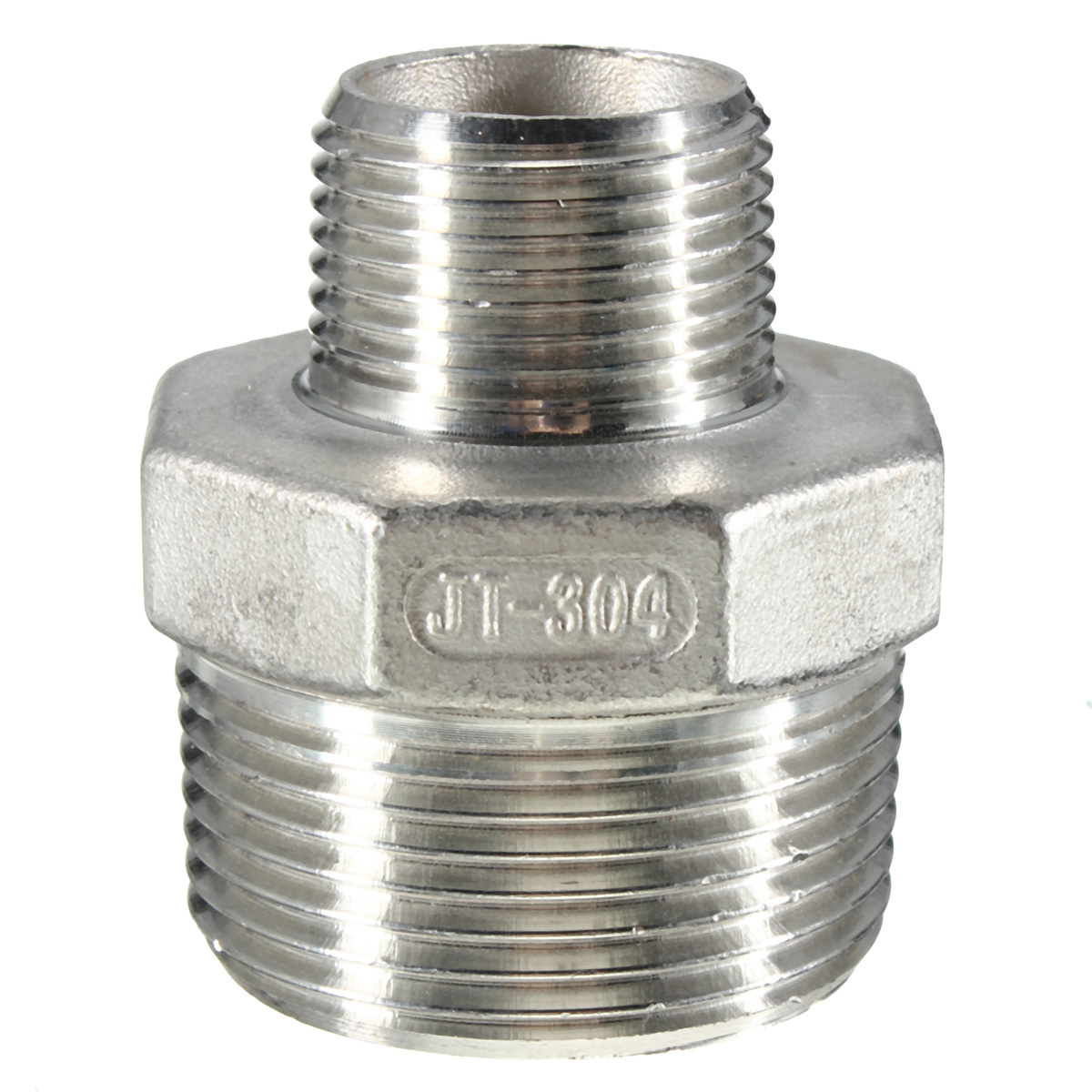 Npt male hex nipple threaded reducer pipe