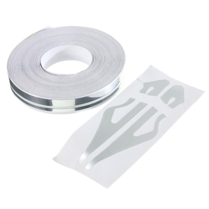 1 2 Pin Striping Stripe Vinyl Tape Decals Stickers 12mm