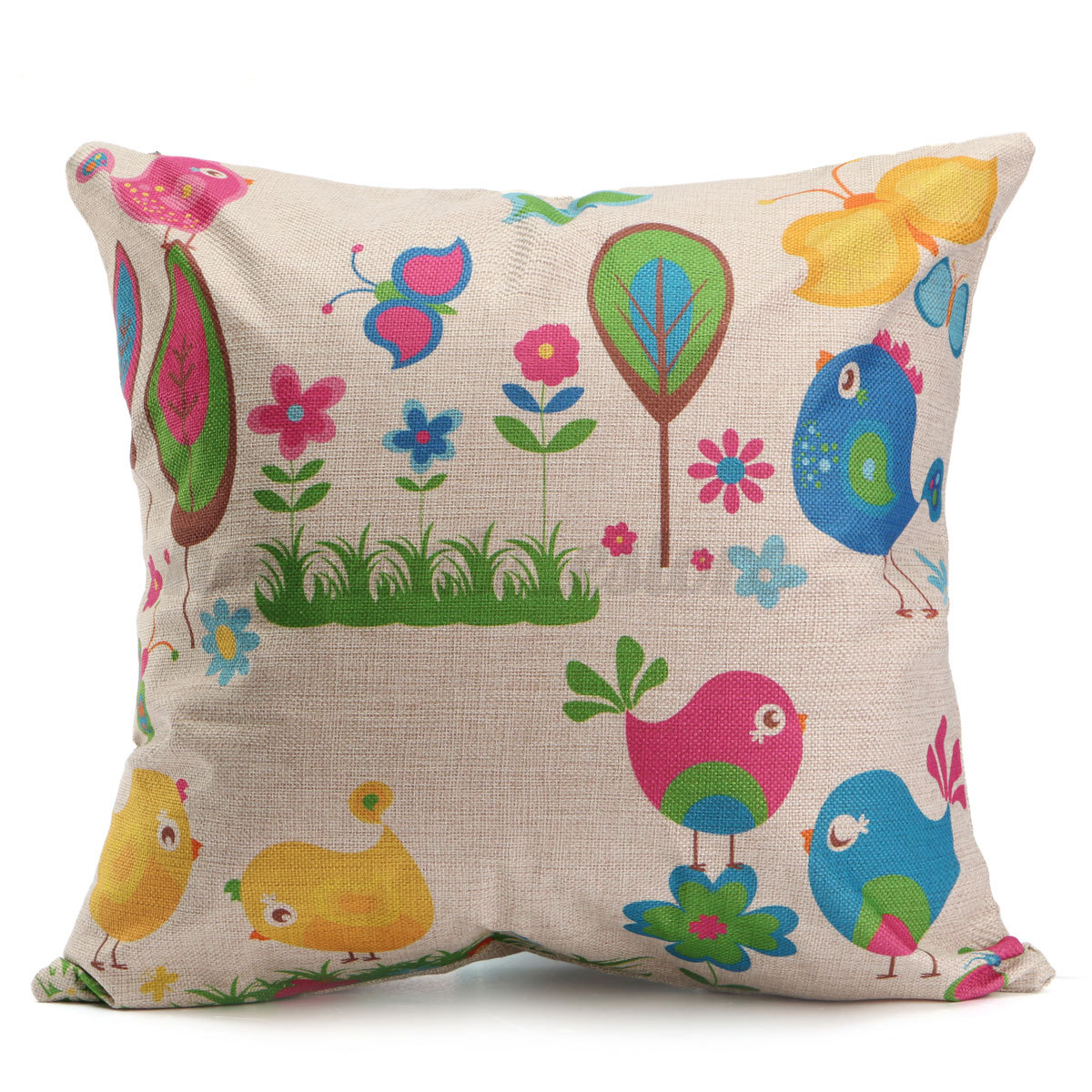 Decorative Cushions For Bedrooms : Vintage Simple Style Home Bedroom Decor Seat Back Pillow Case Cushion Cover eBay