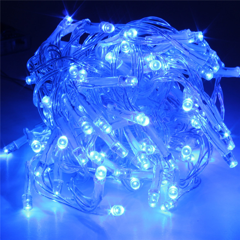 5m 50 led string fairy light battery powered party xmas wedding twinkling lamp. Black Bedroom Furniture Sets. Home Design Ideas