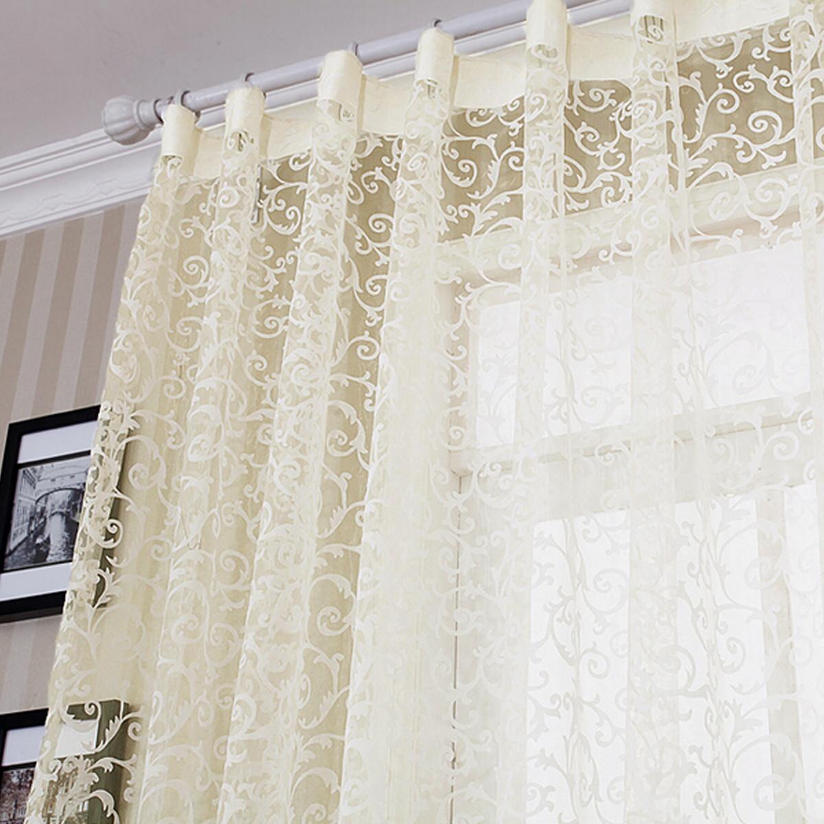 Flacado cortina de gasa mosquitera visilio cortinilla - Cortinas de gasa ...