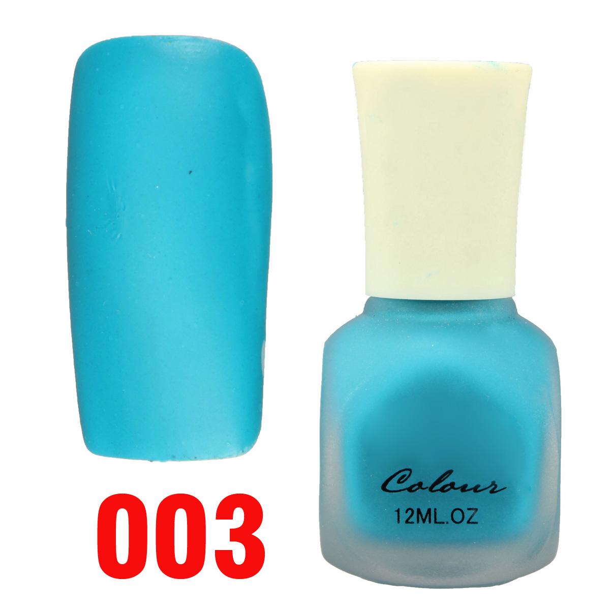 20 couleurs vernis ongle mat terne fragrant gel uv protection nail art 12ml ebay. Black Bedroom Furniture Sets. Home Design Ideas