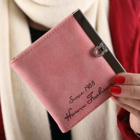Women Leather Wallet Purse Clutch Card Photo Holder Coin Money Case Bag Handbag