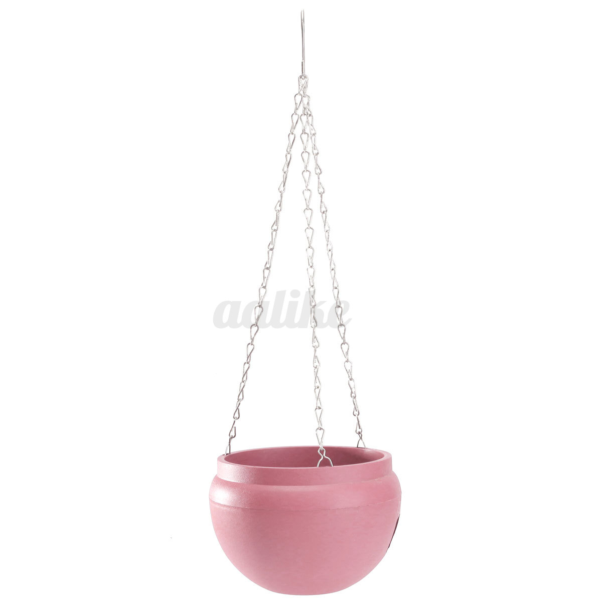 Hanging flower planter pot vase plastic basket container for Decorative hanging pots