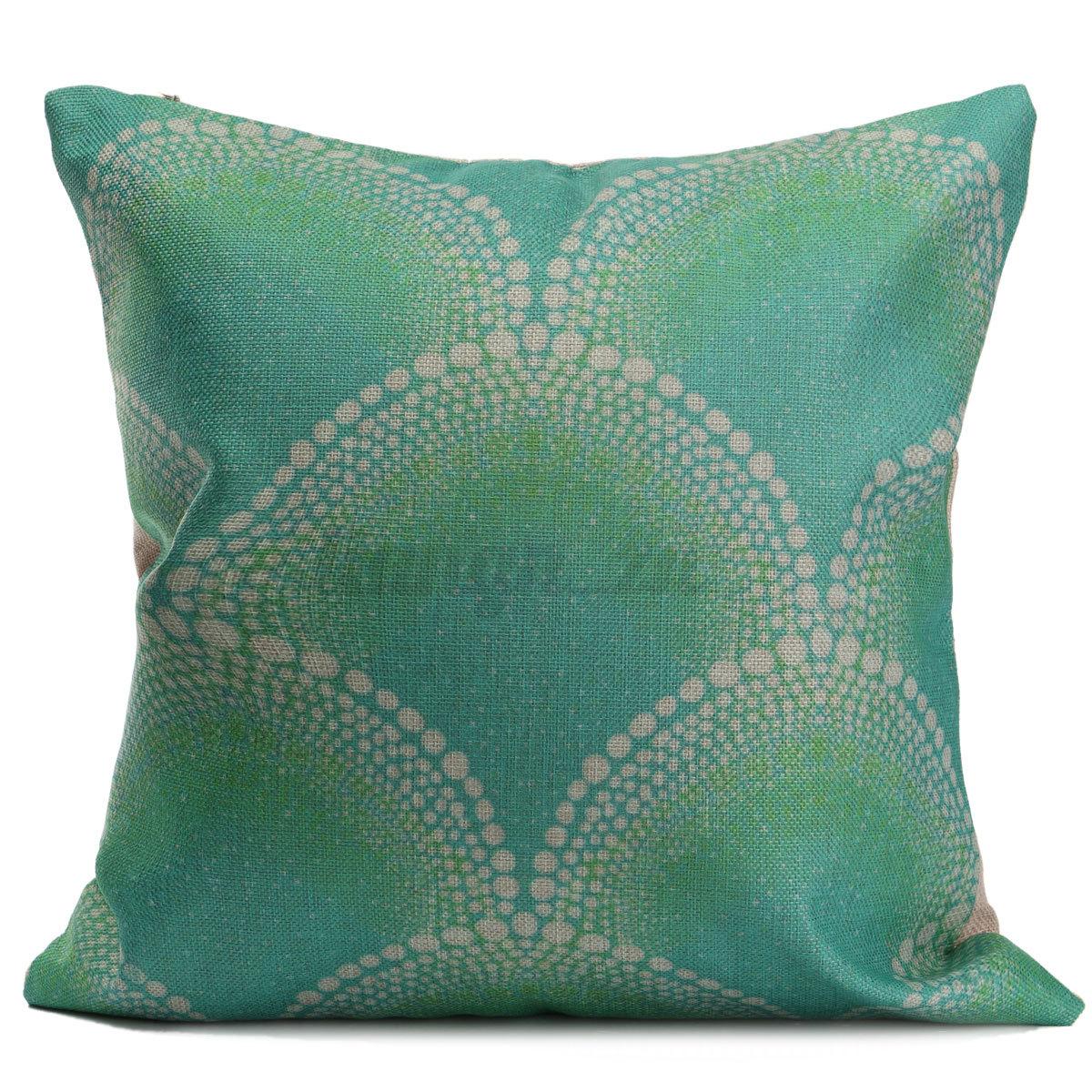 Housse de coussin taie d 39 oreiller maison canap lit pillow for Housse coussin canape