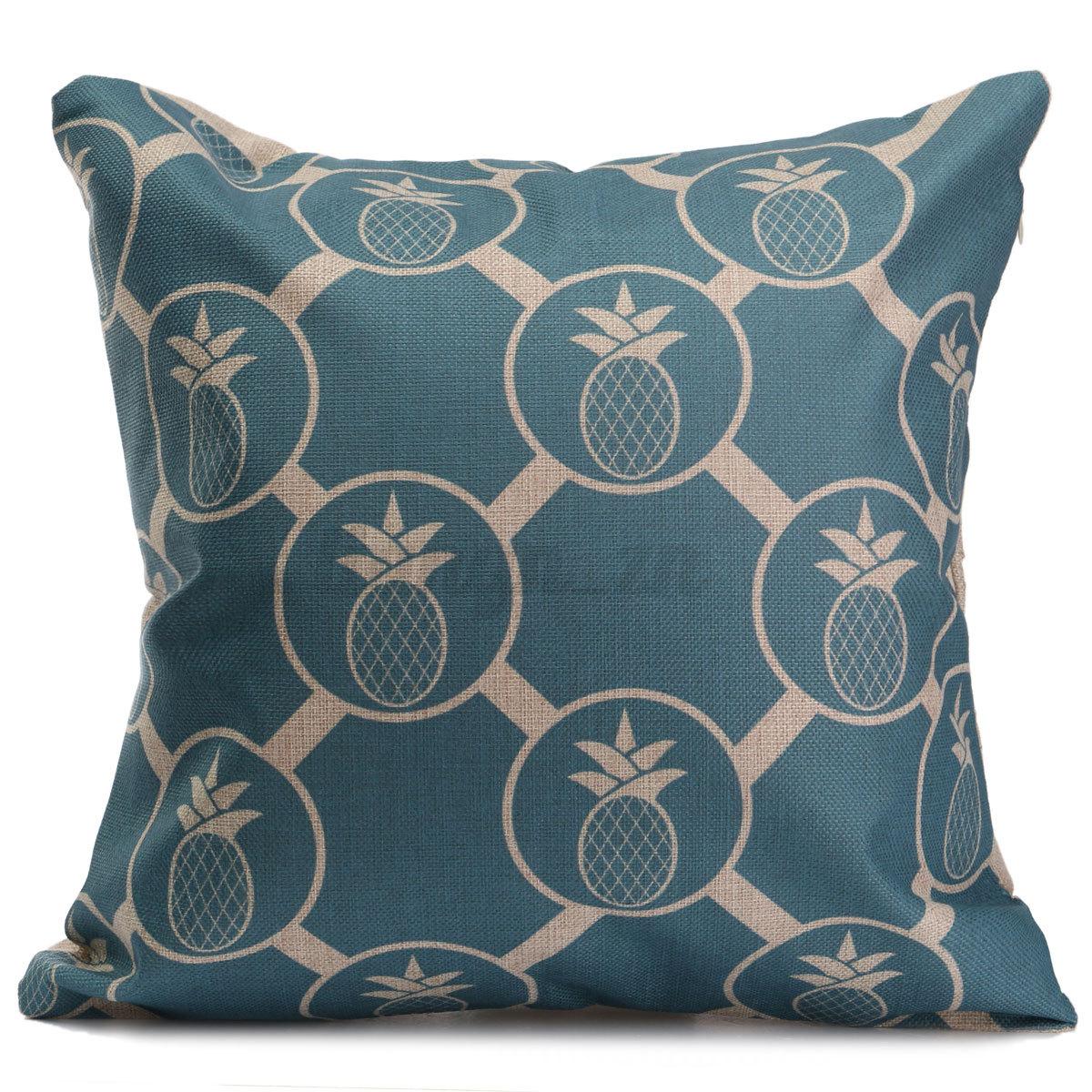 housse de coussin taie d 39 oreiller maison canap lit pillow. Black Bedroom Furniture Sets. Home Design Ideas