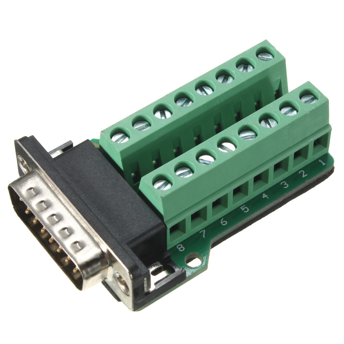 15 Pin D Sub Male Connector Pinout