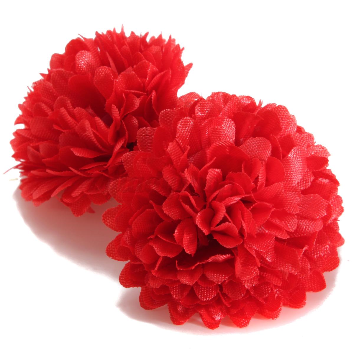 10pcs Artificial Daisy Flower Silk Spherical Heads Bulk Home Party Wedding De