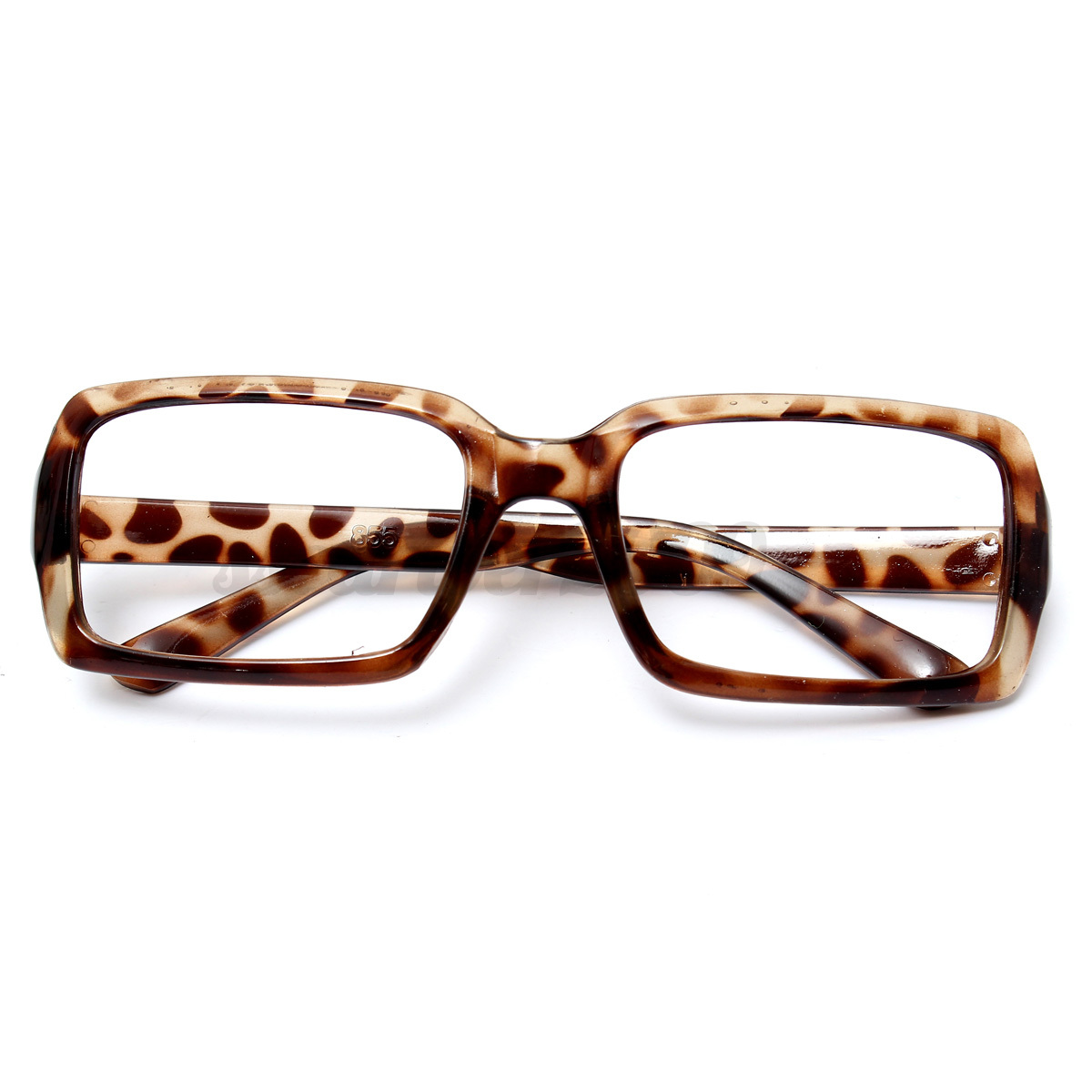 Fashion Square Lens-free Eyeglass Frame Multi-colored ...