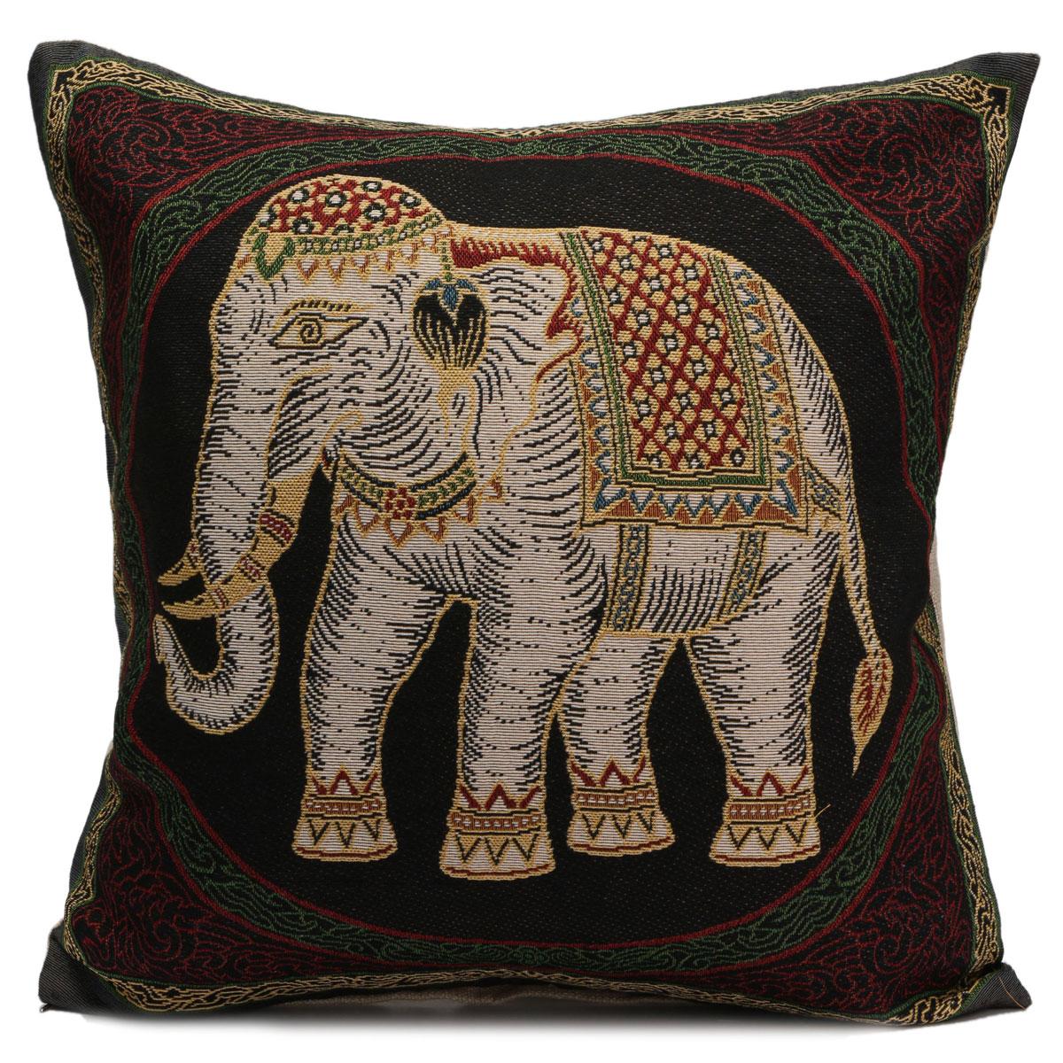 Elephant Throw Pillow Case : 18