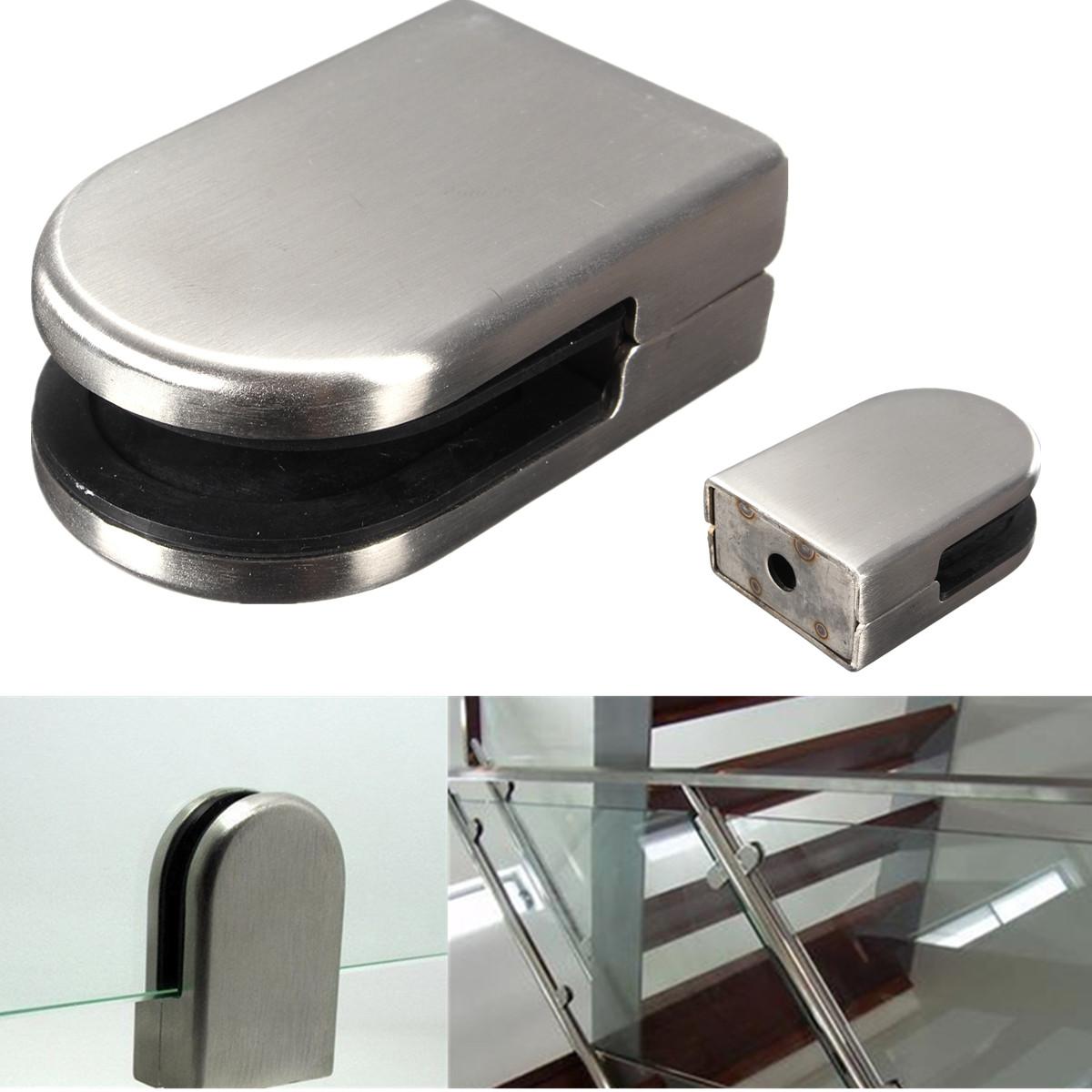 Mm stainless steel glass clamp bracket holder for