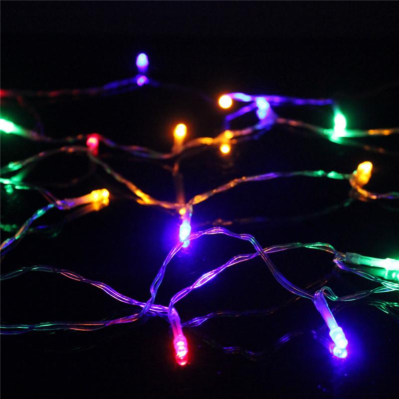 3 5m rgb 20 led usb lichterkette streifen weihnachten party innen au en leuchten ebay. Black Bedroom Furniture Sets. Home Design Ideas