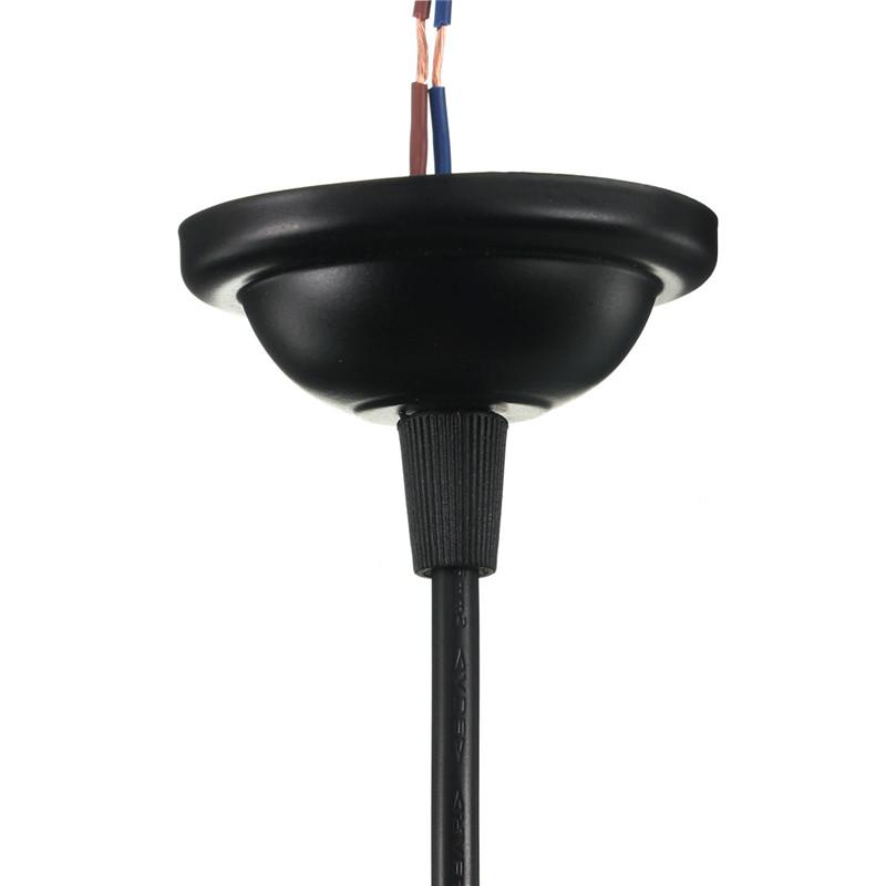 Pendant Light Bulb Type : Ceiling pendant e vintage industrial bulb hang lamp