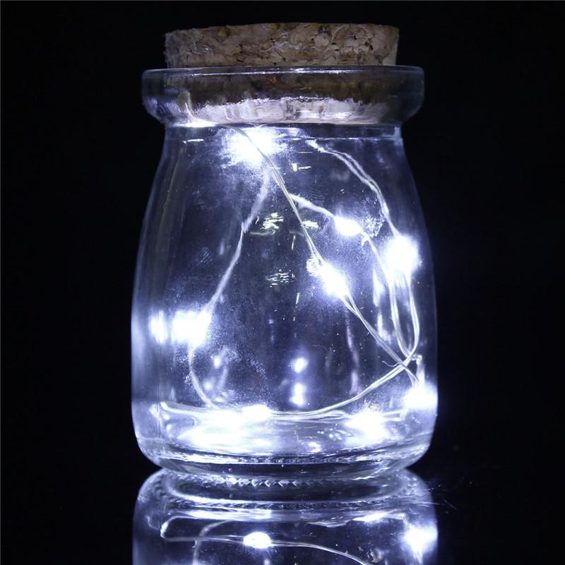 10 graine led vine vase pot verre guirlande lumineuse d cor mariage no l f te nf ebay. Black Bedroom Furniture Sets. Home Design Ideas