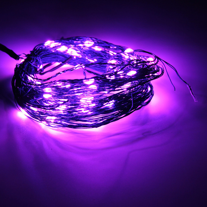 Led String Lights Dc : 10M 100 LED 33Ft String Fairy Light Lamp Xmas Home Decor + Power Adapter DC 12V eBay