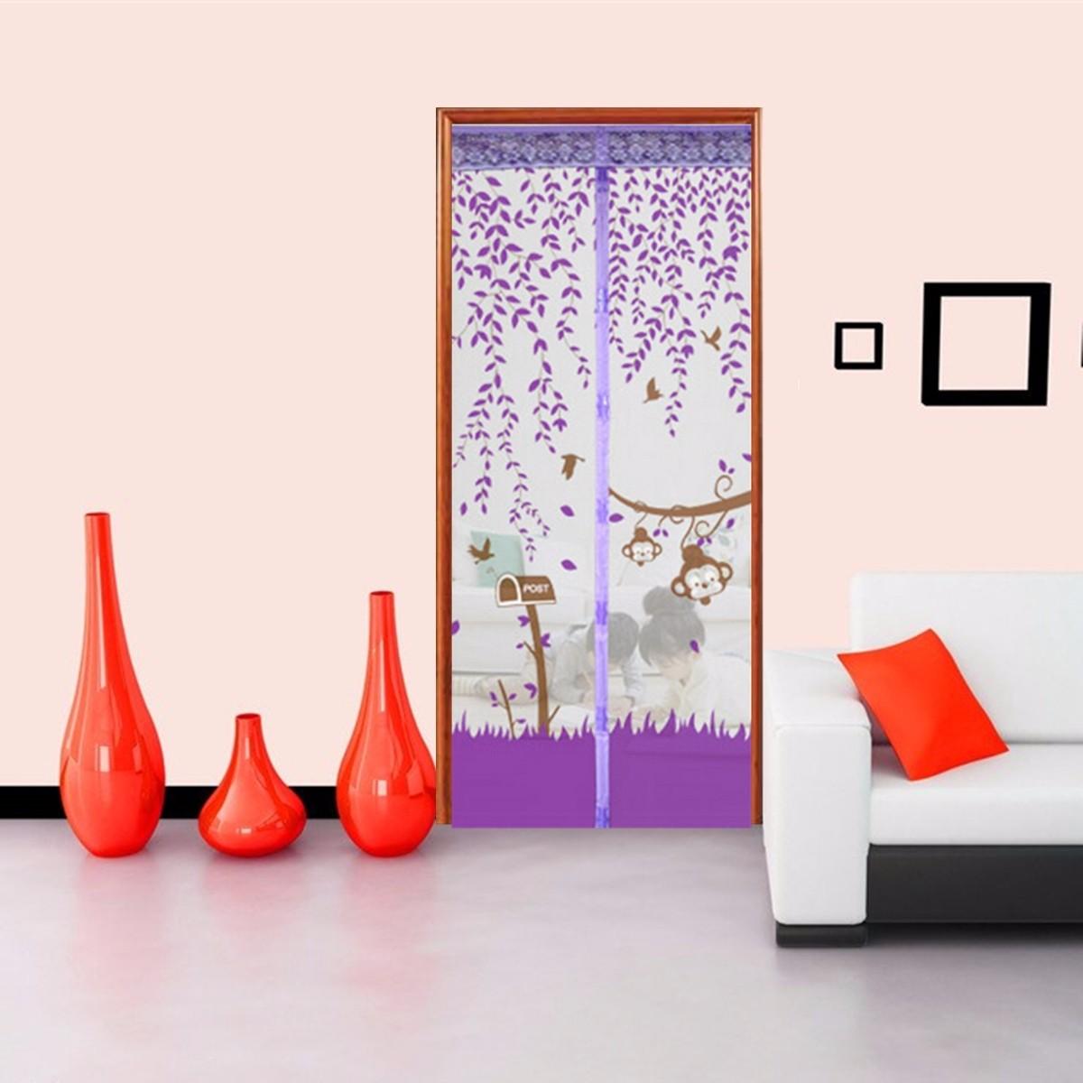 aimant rideau porte porti re maille magique anti insecte mouche moustique maison ebay. Black Bedroom Furniture Sets. Home Design Ideas
