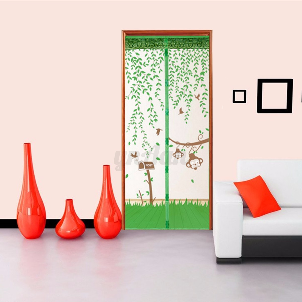 porte porti re maille aimant rideau magique anti insecte mouche moustique maison ebay. Black Bedroom Furniture Sets. Home Design Ideas