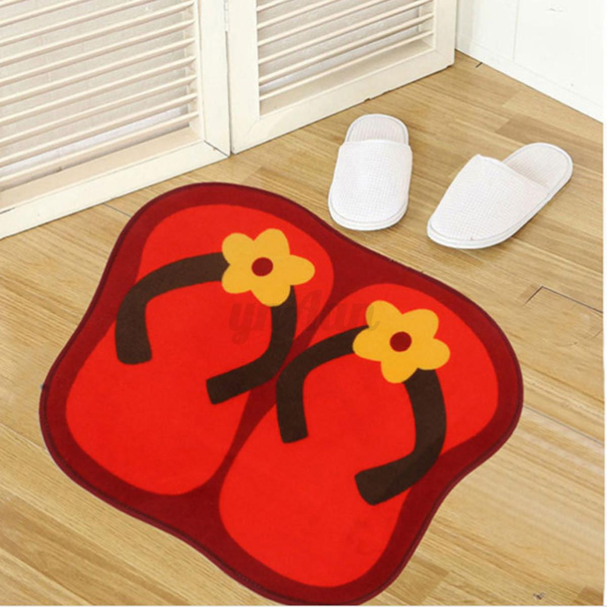 tapis shaggy salle de bain baignoire salon anti d rapant. Black Bedroom Furniture Sets. Home Design Ideas