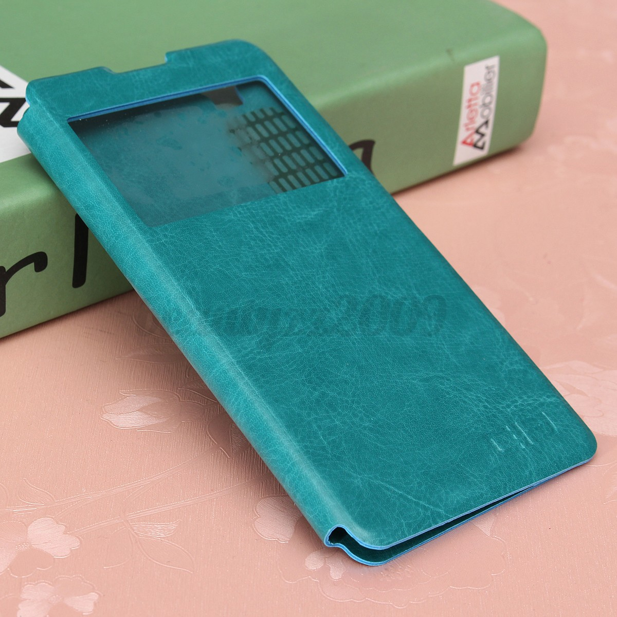 View Window Flip PU Leather Clear Sticker Sucker Case Cover For Elephone G7 5.5""