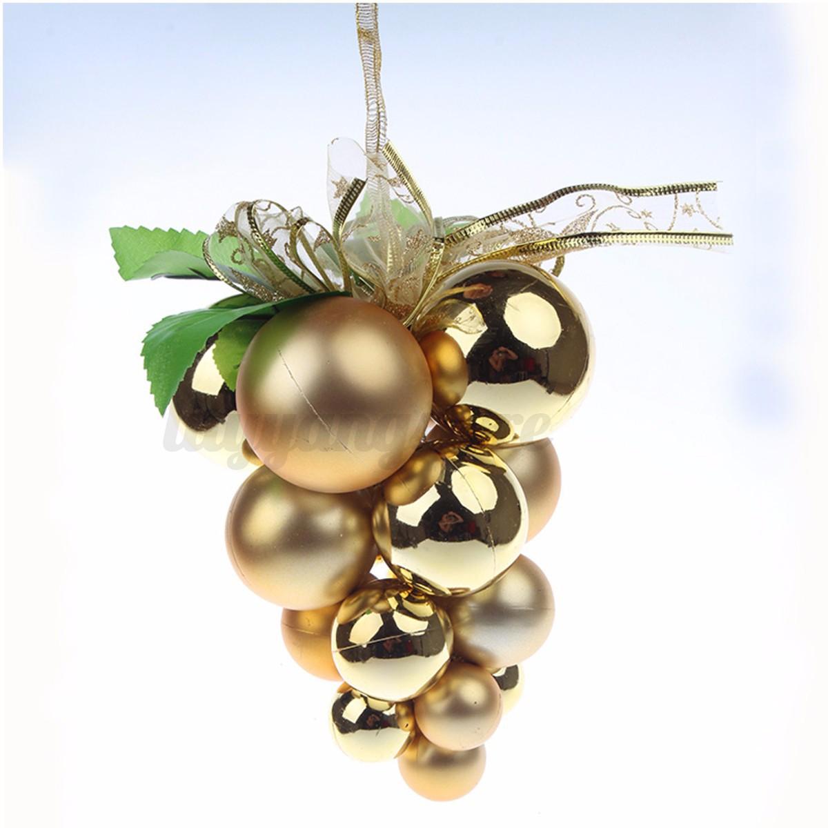 Christmas Tree Xmas Grape Balls Decorations Baubles Wall