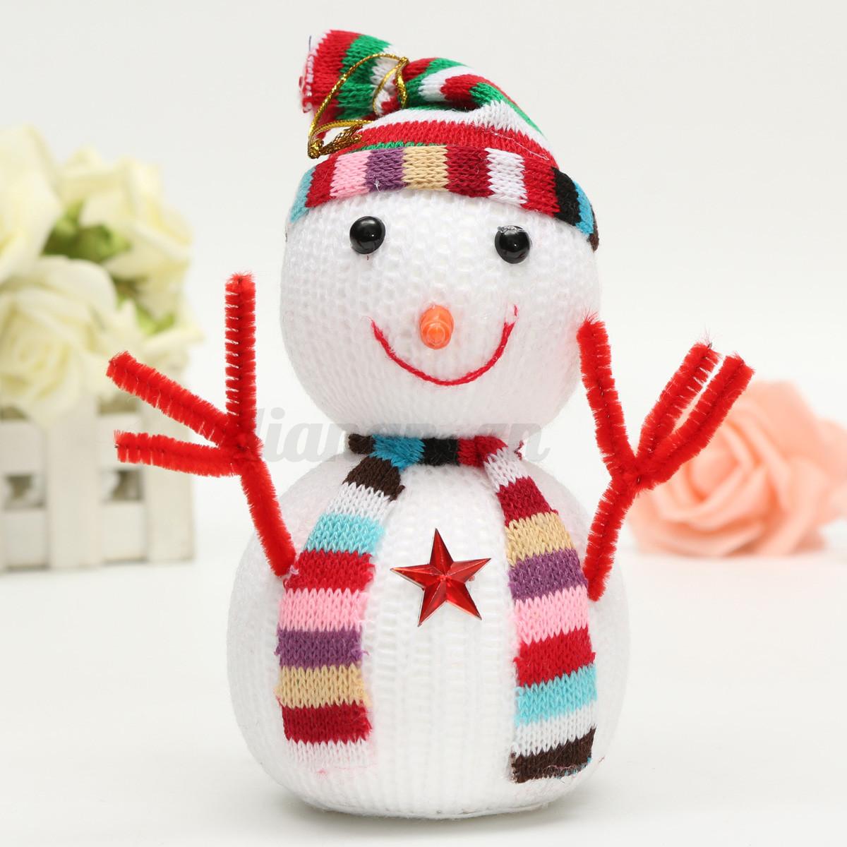 Al atoire sapin no l bonhomme de neige ornements cadeau f te 3d hanging d cor - Cadeau de noel a vendre ...