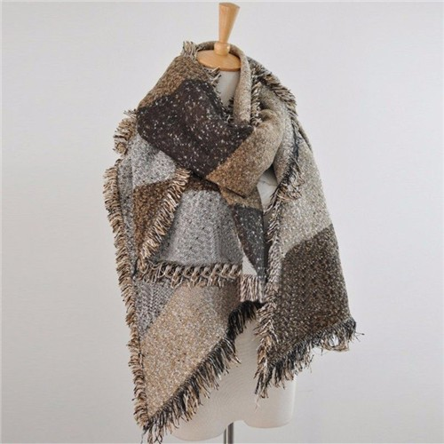 fashion winter s thick warm wool stole
